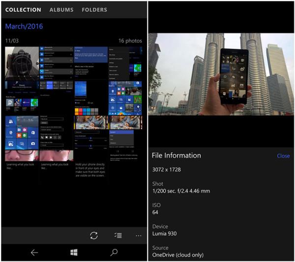 Windows 10 Photo Album