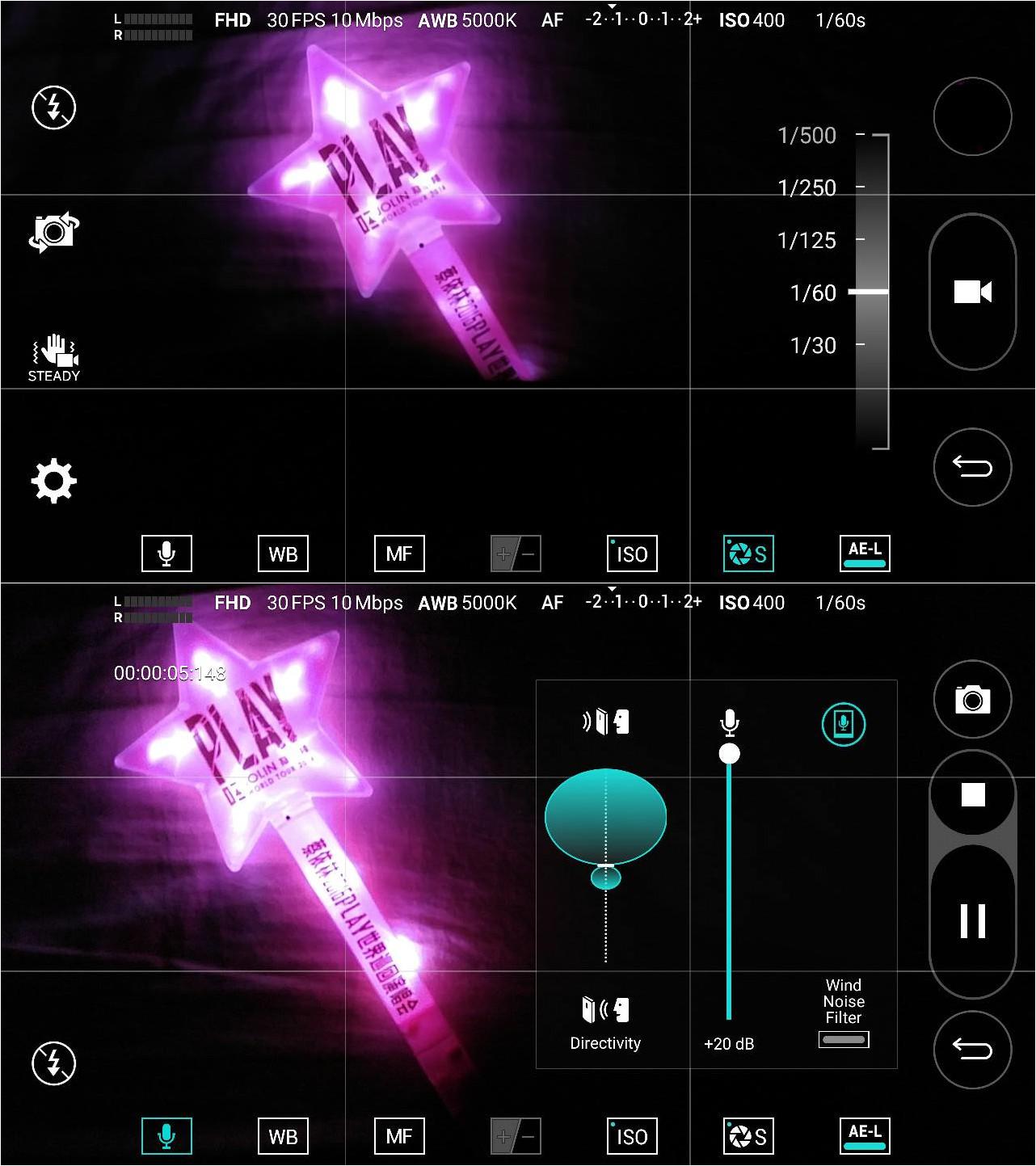 LG V10 Video Manual Mode